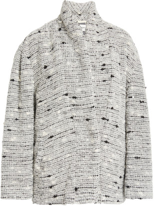 Etoile Isabel Marant Fantsy Belted Tweed Jacket