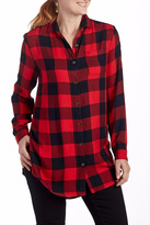 Jag Plaid Blouse Tunic
