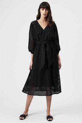 Witchery Batwing Broderie Dress