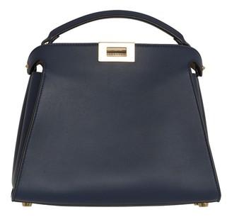 Fendi Peekaboo Navy Leather Handbags
