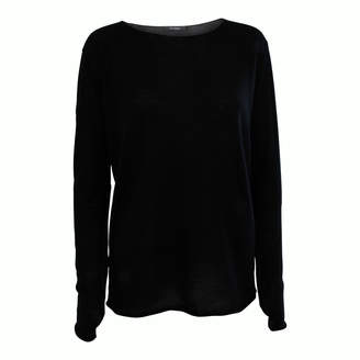 Oh Simple - Black Silk Cashmere Sweater - xs | black - Black/Black