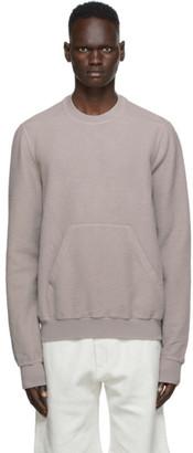Rick Owens Taupe Granbury Sweatshirt