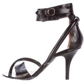 Givenchy Alligator Multistrap Sandals