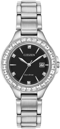 Citizen Eco-Drive Women's Silhouette Black DialWatch