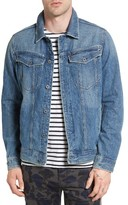 G Star Men's 3301 Slim Fit Denim Jacket