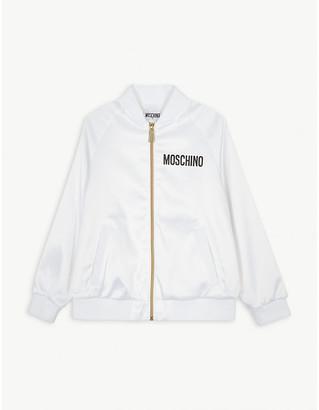 Moschino Sequin satin bomber jacket 4-14 years