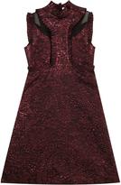 Erdem Ettie Lurex Ruffle Dress