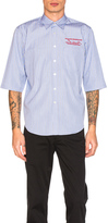 Martine Rose Short Sleeve Shirt