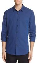 Theory Zack Tonal Pinstripe Slim Fit Button-Down Shirt