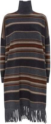 Max Mara Tornado Knitted Striped Dress