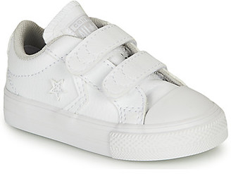 Converse STAR PLAYER EV 2V - OX girls's Shoes (Trainers) in White