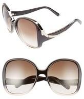 Chloé Women's Mandy 59Mm Square Sunglasses - Gradient Black