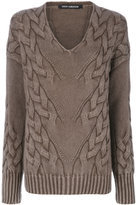 Iris von Arnim textured knit sweater