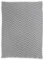 Living Textiles Chenille Chevron Knit Blanket