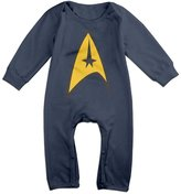VBE113 Star Trek Baby Onesie Bodysuit Toddler Clothes Jumpsuits Longsleeve