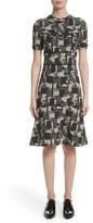 Yigal Azrouel Women's Patchwork Stretch Jacquard Dress