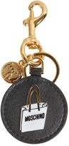 Moschino Leather Keyfob