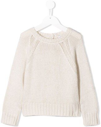 Il Gufo Back Button Fastening Jumper