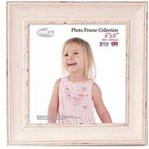 Inov-8 Inov8 British Made Picture/Photo Frame, Square 8x8-inch, Large Washed White