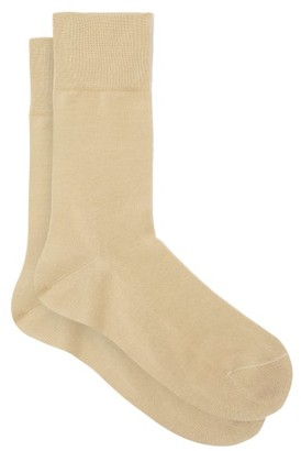 Falke Tiago Cotton Blend Socks - Mens - Camel