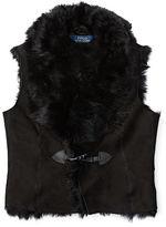 Ralph Lauren 7-16 Shearling Vest