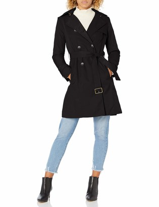 Cole Haan Women's Classic Belted Trench Coat