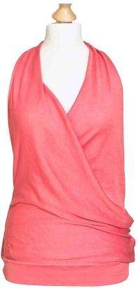 Celine Pink Cashmere Tops