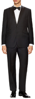 English Laundry Wool Solid Peak Lapel Tuxedo