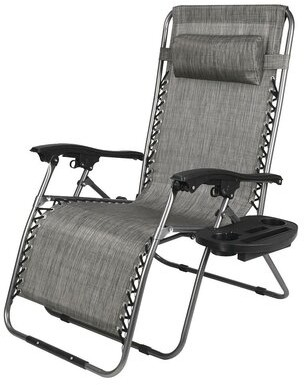 Zero Gravity Ebern Designs Oversized Chair With Cup Holder Ebern Designs