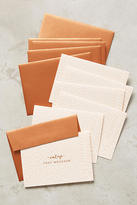 Anthropologie Painted Card Set