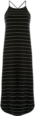 Taylor Extension striped dress
