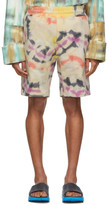 Wooyoungmi Multicolor Tie-Dye Shorts