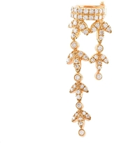 Yvonne Leon Dangly Cuff Diamond Earring