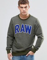 G Star G-Star Warth Sweatshirt Raw Applique