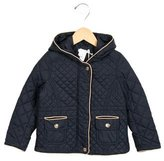 Chloé Girls' Quilted Hooded Jacket w/ Tags