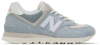New Balance Blue 574 Sneakers
