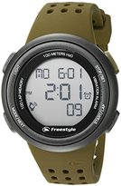 Freestyle Unisex 10019177 FX Trainer Digital Display Japanese Quartz Brown Watch