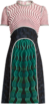 Mary Katrantzou Vitriol Snuffbox-print short-sleeved dress
