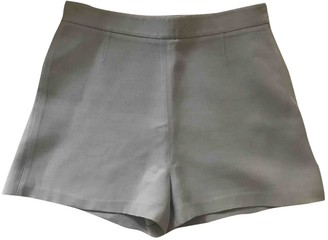 Valentino \N Grey Wool Shorts