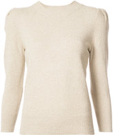 Co puff sleeve sweater