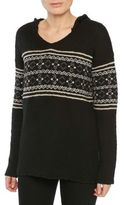 Sanctuary Embroidered Hooded Pullover