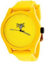 Everlast Mens Yellow Bracelet Watch