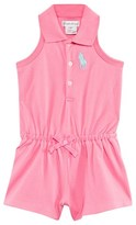 Ralph Lauren Pink Polo Playsuit