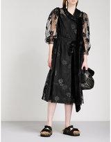 Simone Rocha Teddy bow-tie tulle dress