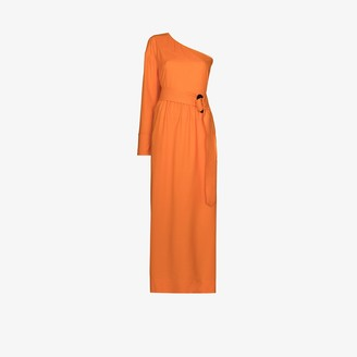 NACKIYÉ Patmos one shoulder maxi dress