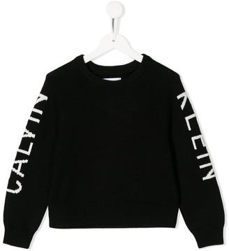 Calvin Klein Kids Branded Jumper
