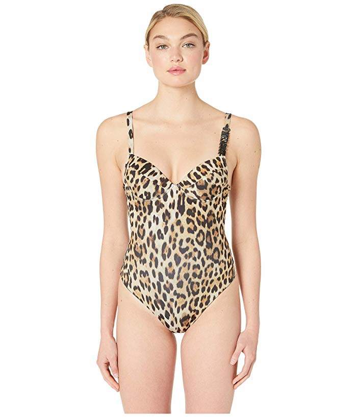 808d6d51bc Animal Print Swimwear Underwire - ShopStyle