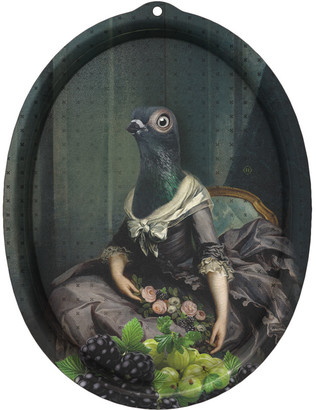 Ibride Galerie De Portraits - Oval Tray - Isild