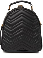 Urban Expressions Single Zip Quilted Backpack