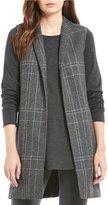 Eileen Fisher Notch Collar Long Vest